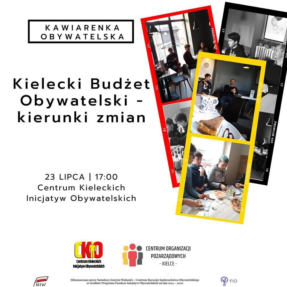 KAWIARENKA OBYWATELSKA: Kielecki Budżet Obywatelski – kierunki zmian