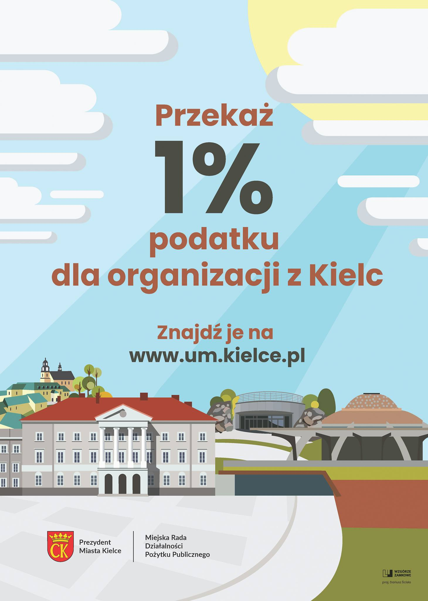1% podatku zostaw w Kielcach!