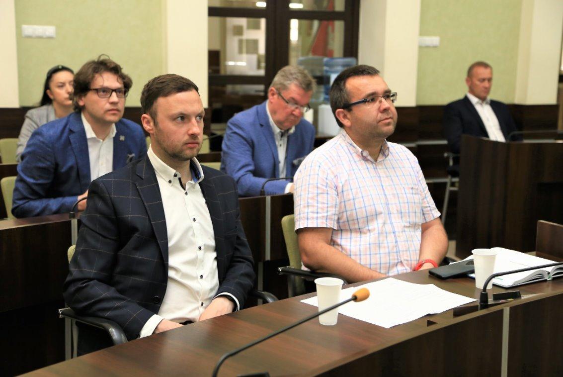Przedstawiciele Kieleckiego Forum Organizacji Pozarządowych w Radzie ds Smart City