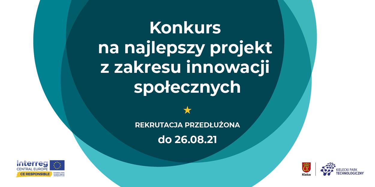 Konkurs na najlepszy projekt z zakresu innowacji społecznych – rekrutacja przedłużona